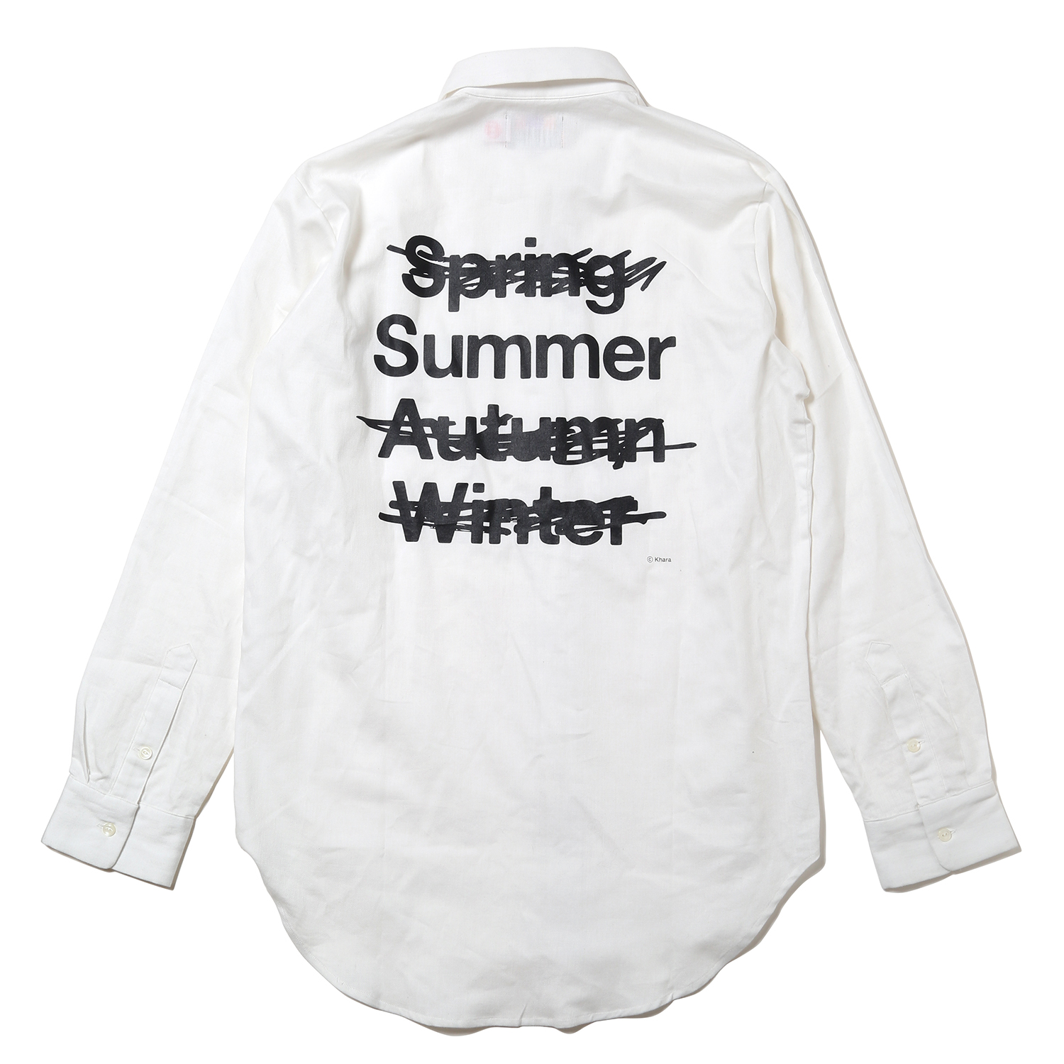 NEW ONLY SUMMER SHIRTS (ホワイト)