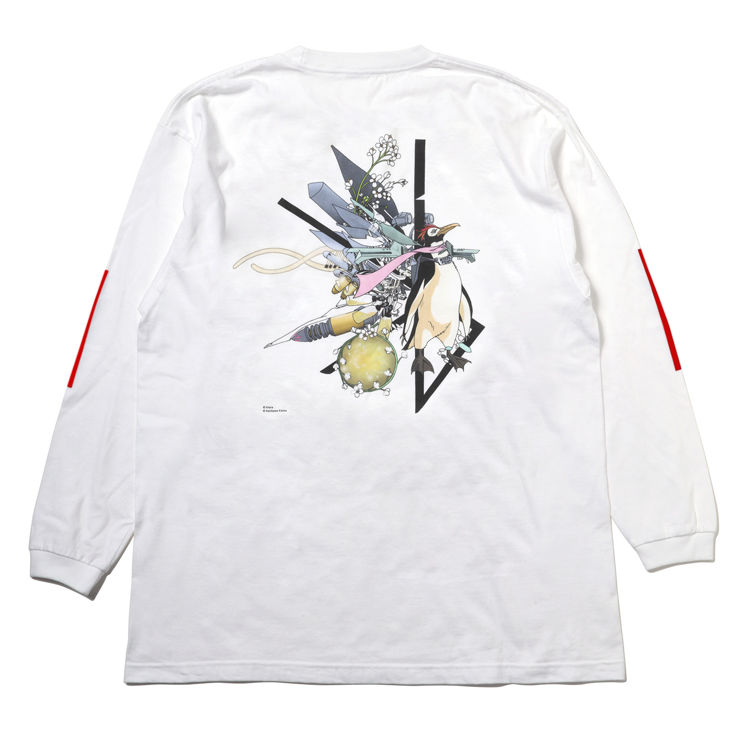 Abstract EVANGELION Cutsew (KENTA KAKIKAWA) (WHITE(ペンペン))