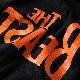 THE BEAST T-Shirt (ブラック×オレンジ)