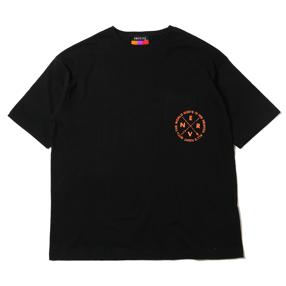 EVANGELION New Numbering Pocket T-Shirt (オレンジ(02))