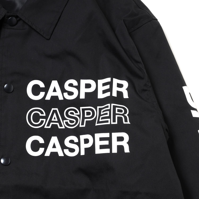 NEW MAGI SYSTEM Nylon Jacket (BLACK×WHITE)