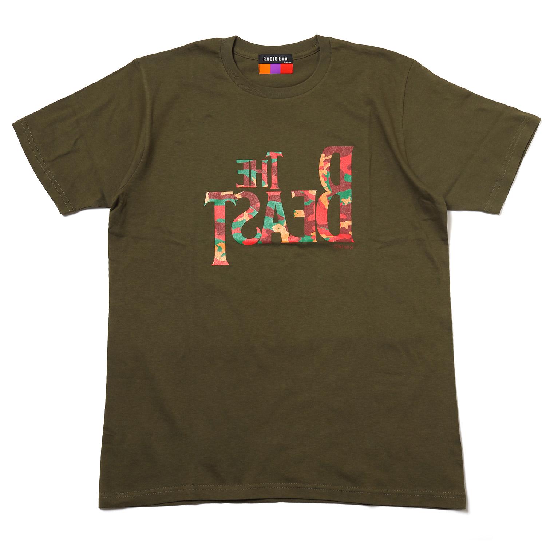 THE BEAST T-Shirt (EVA-02(OLIVE))