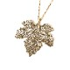 NERV Fig Leaf Necklace by Ayler (GOLD)