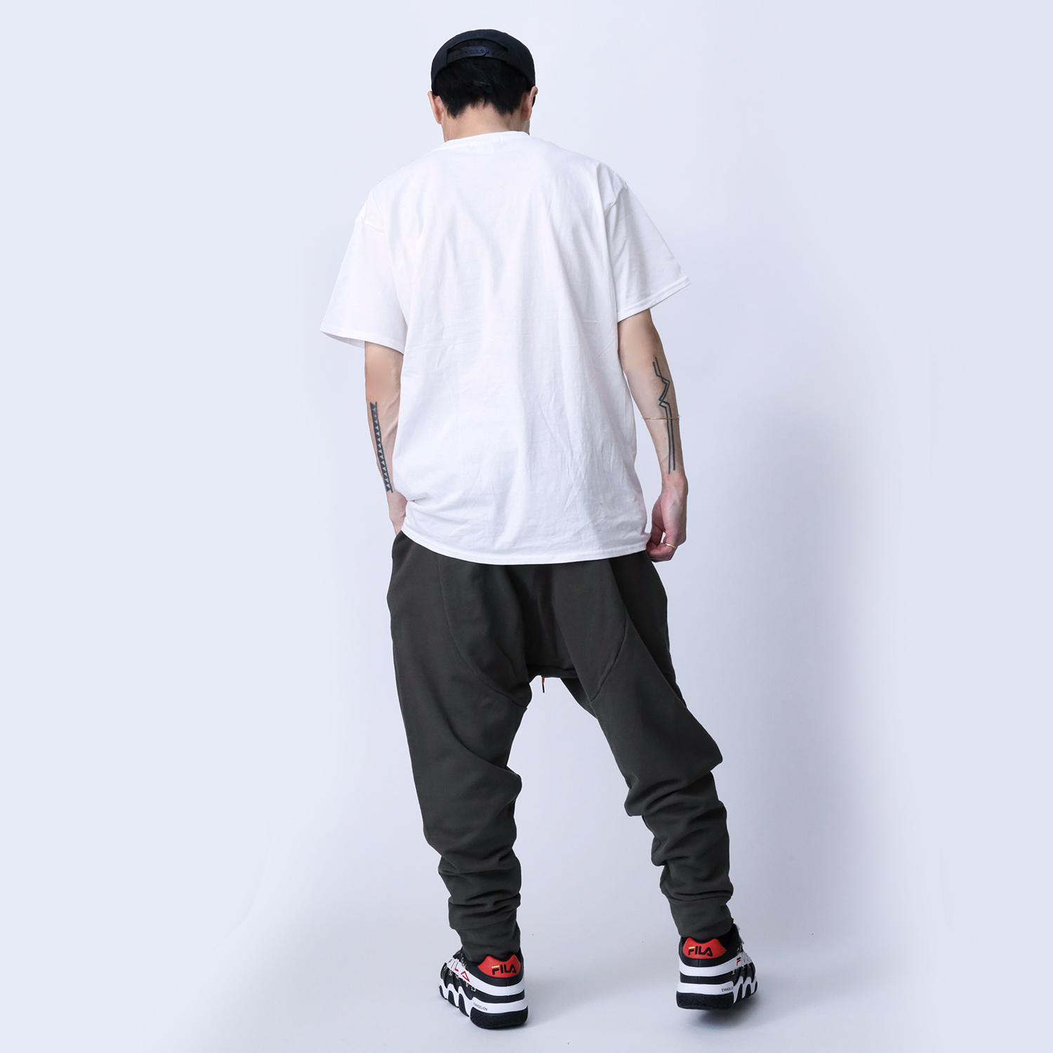 ADAMS Saruel Sweat Pants (DARK GREEN)
