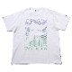 FILA Longinus T-Shirt EVANGELION LIMITED (WHITE)