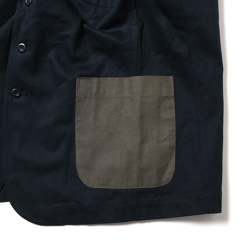 EVA Patchwork Jacket (ネイビー)