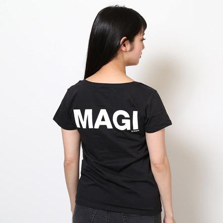 MAGI SYSTEM T-Shirt (CASPER(ブラック))