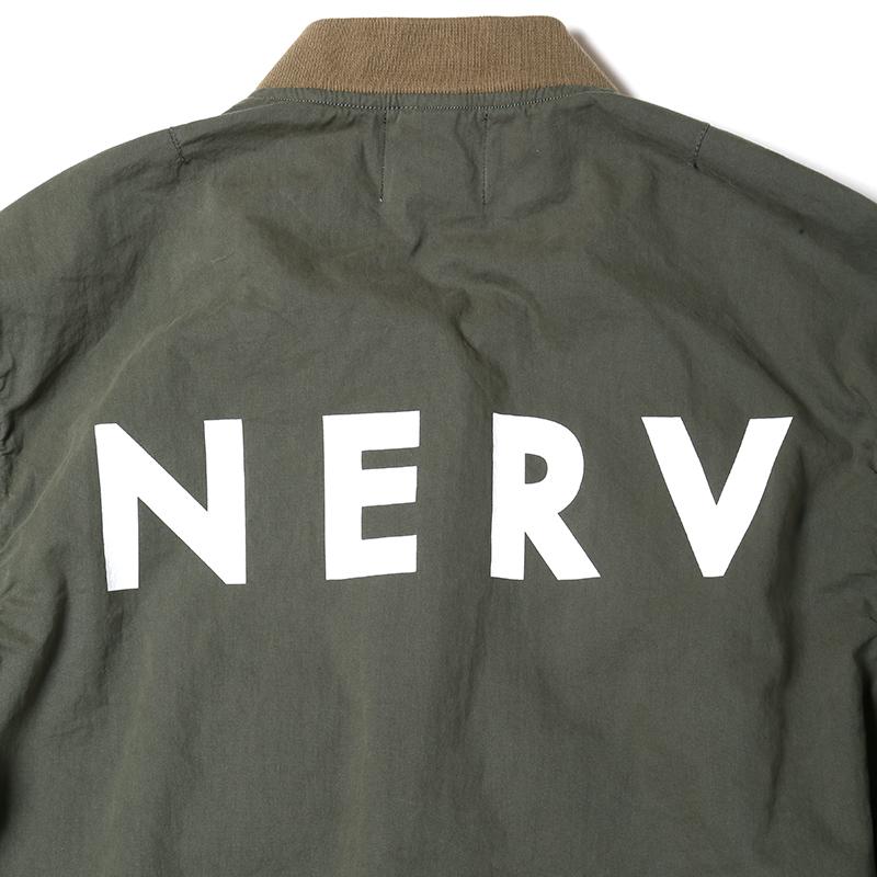 NERV Light MA-1 JACKET (SAGE)