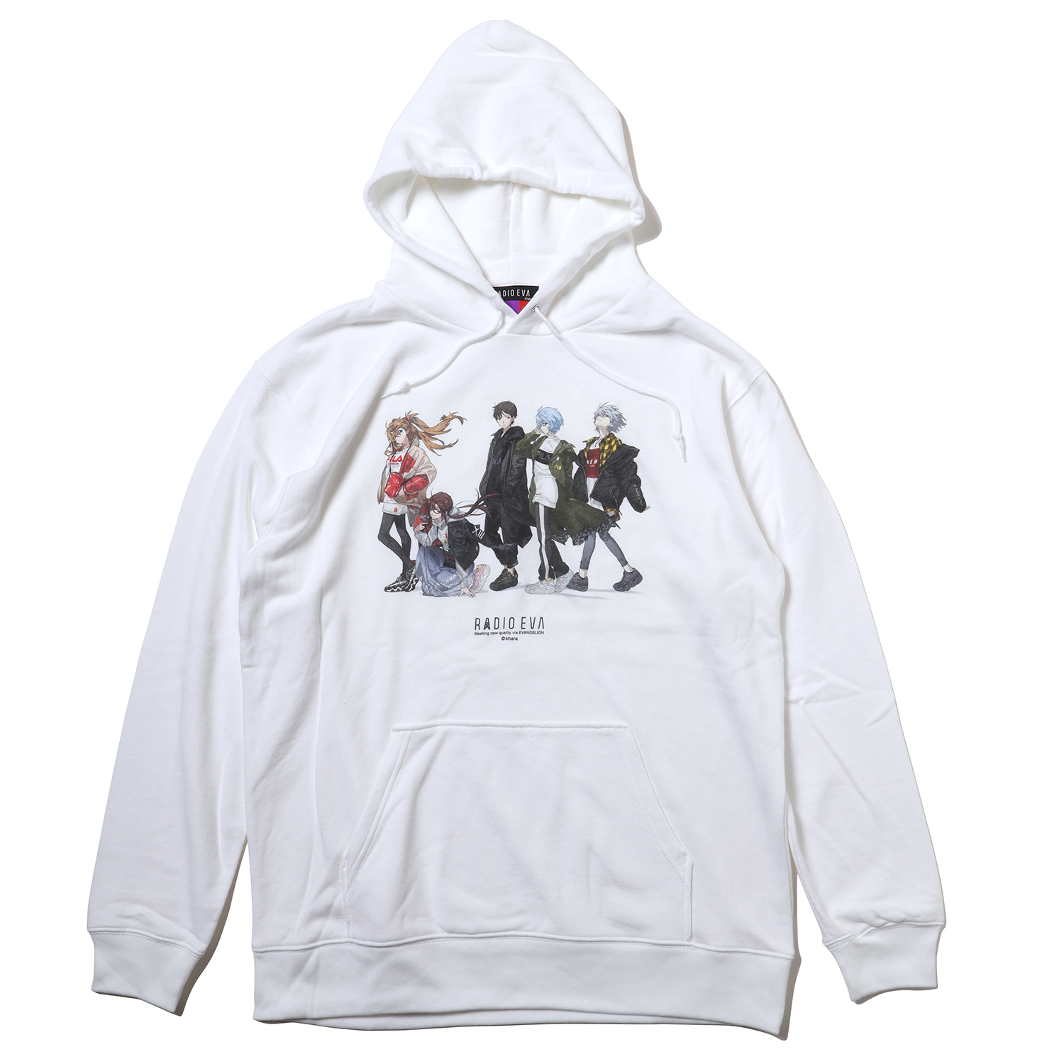 RADIO EVA Illustration Parka (Mai Yoneyama) (WHITE)