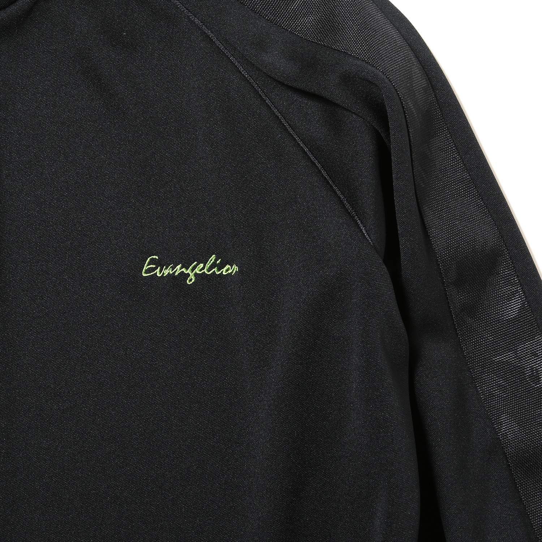 EVANGELION LINE TRACK JACKET (ブラック×ブラック)