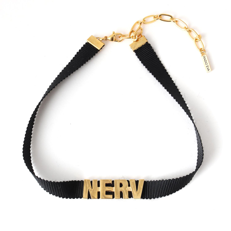 NERV Choker (GOLD)