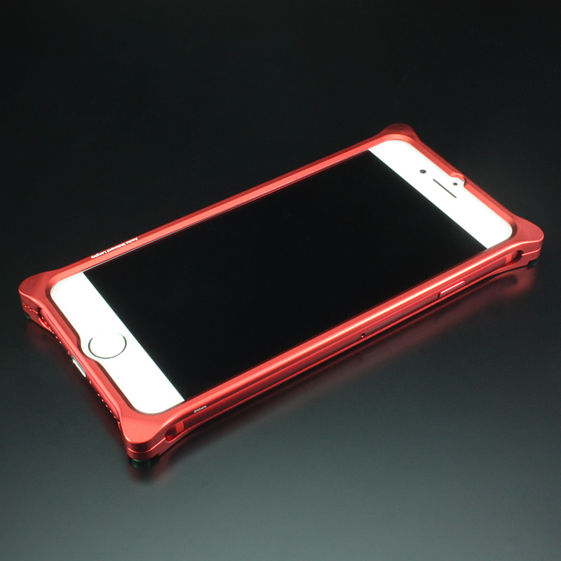 Solid Bumper for iPhone7/8 (RADIO EVA Limited) (Matte RED(式波・アスカ・ラングレー))