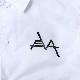 EVANGELION Solid Line Logo Nylon Jacket (ホワイト)