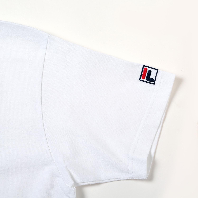 EVANGELION GRAPHIC T-Shirt by FILA (WHITE (エヴァンゲリオン 8号機))