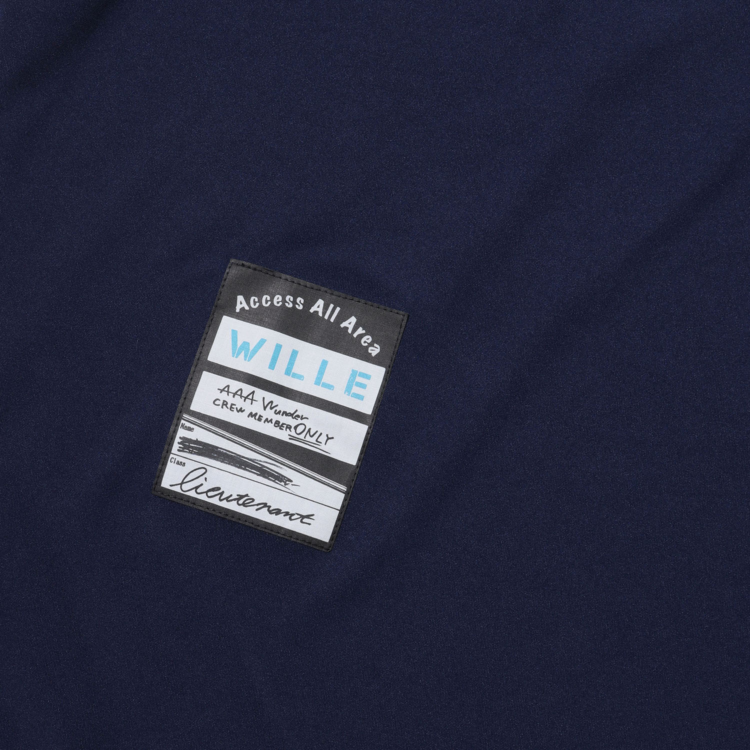 Back Stage Pass French Sleeve T-Shirt (NAVY)