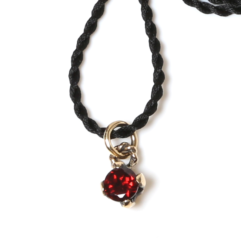 EVANGELION CORE STONE NECKLACE / K18(VIVIFY) (ブラック)