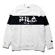 FILA MONOGRAM LOGO SWEAT  EVANGELION LIMITED (WHITE)