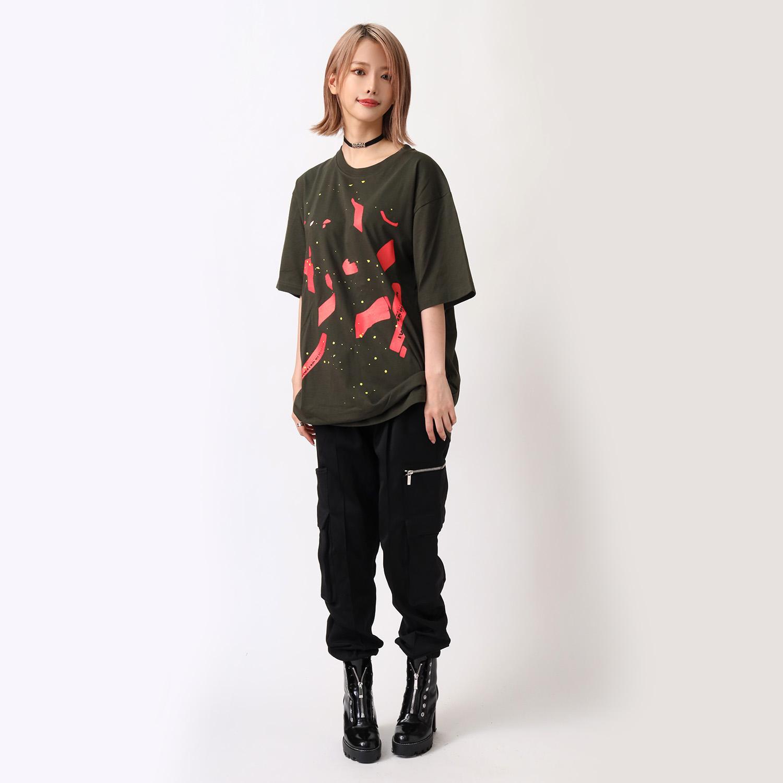 闇夜 T-Shirt β (OLIVE(初号機覚醒))