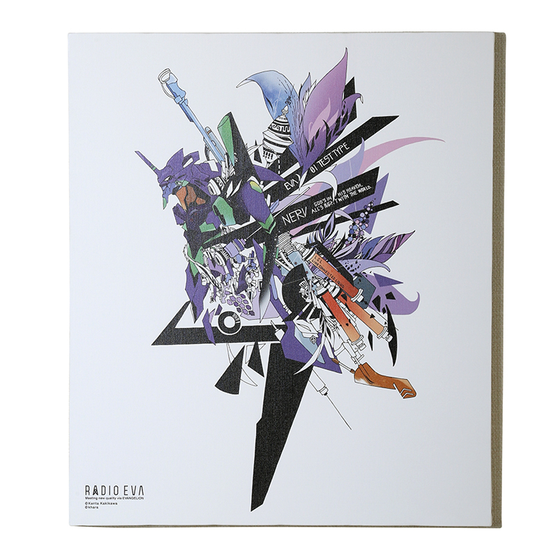 EVA Canvas Art (illustration)初号機(KENTA KAKIKAWA)
