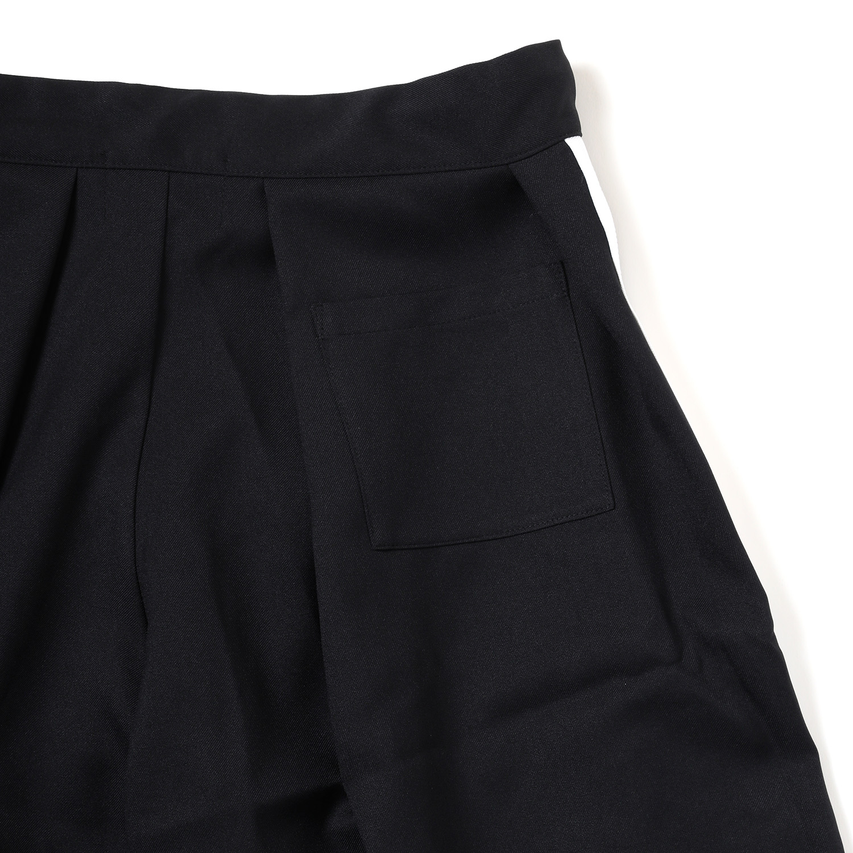 EVANGELION HAKAMA PANTS (BLACK×WHITE)