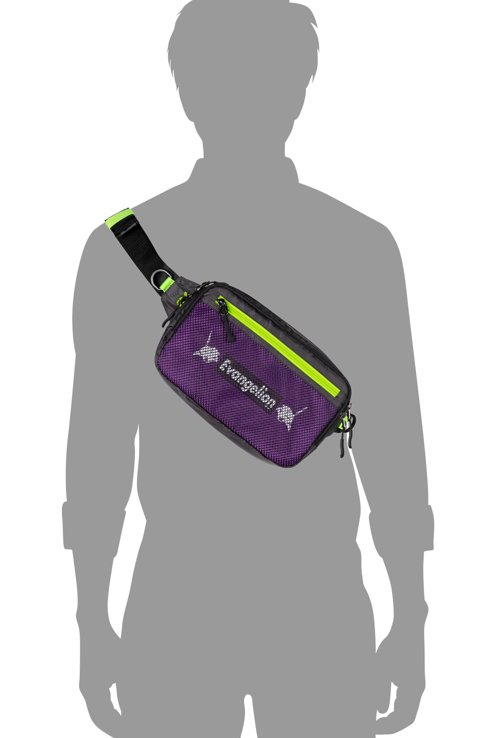 EVANGELION WAIST POUCH by FIRE FIRST (EVA-01 MODEL)