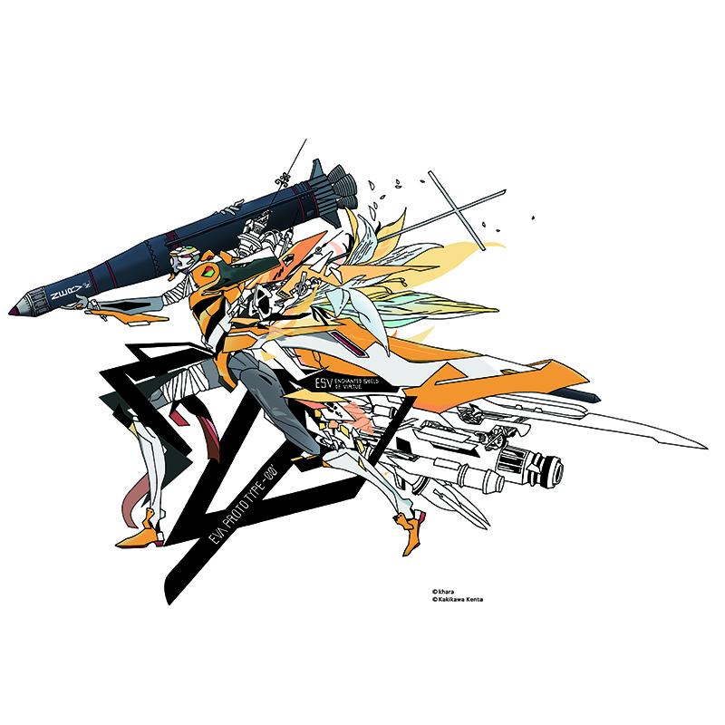 EVA Canvas Art (illustration)零号機(KENTA KAKIKAWA)