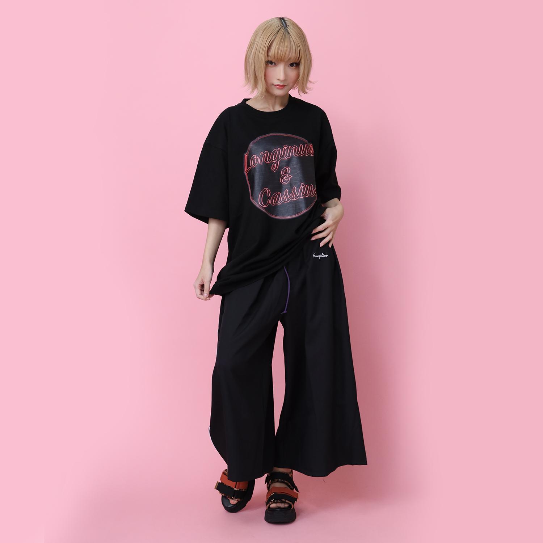 EVANGELION HAKAMA PANTS (BLACK×BLACK)