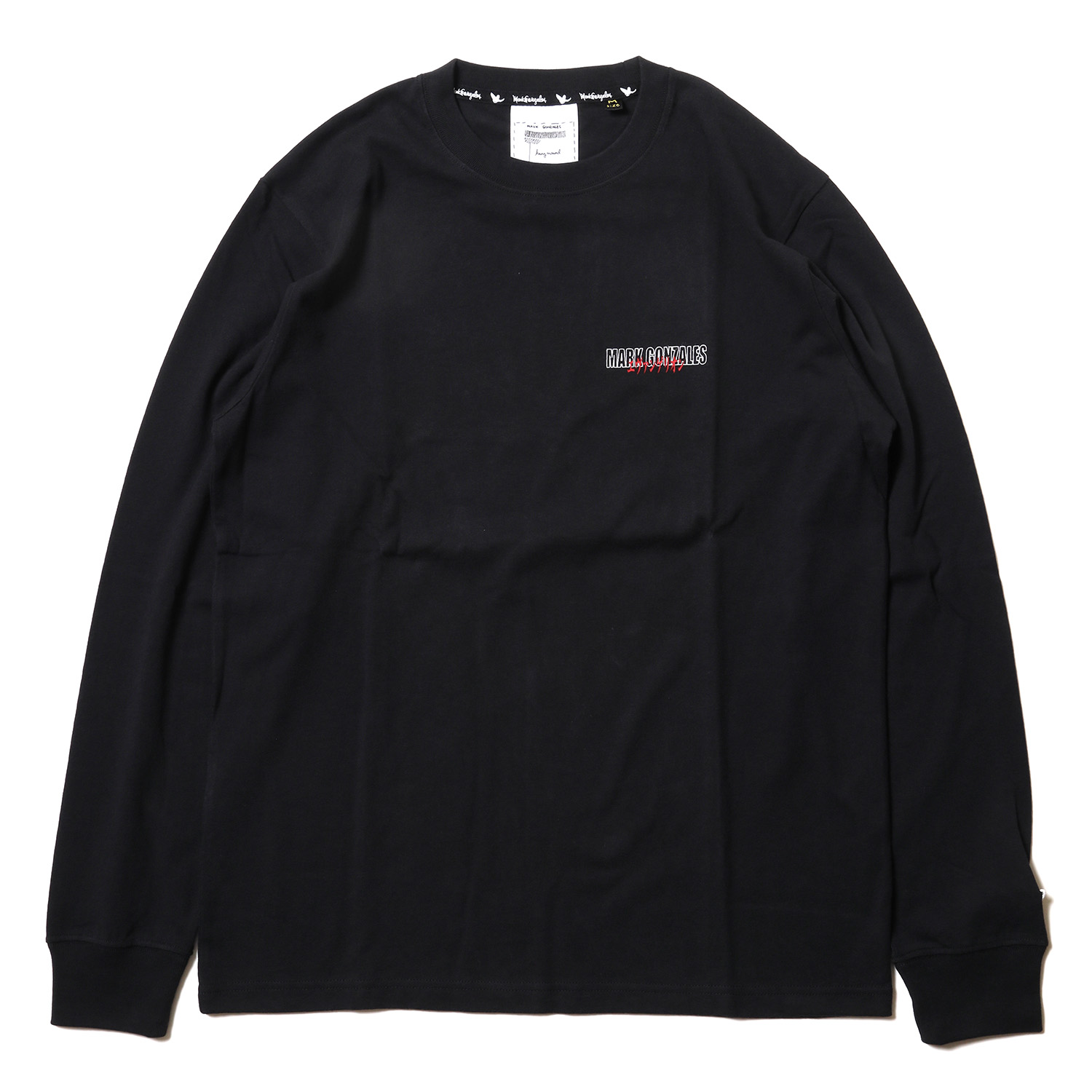 3rd Impact Pt. L/S TEE by MARK GONZALES (BLACK)