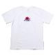 EVA-01 Flower Embroidery T-Shirt (WHITE(初号機覚醒ローズ))
