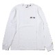 3rd Impact Pt. L/S TEE by MARK GONZALES (WHITE)
