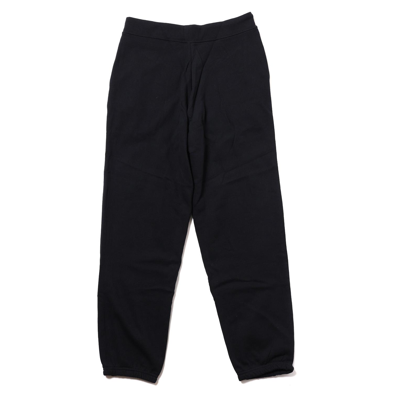 EURO NERV RHINESTONE SWEAT PANTS (BLACK)