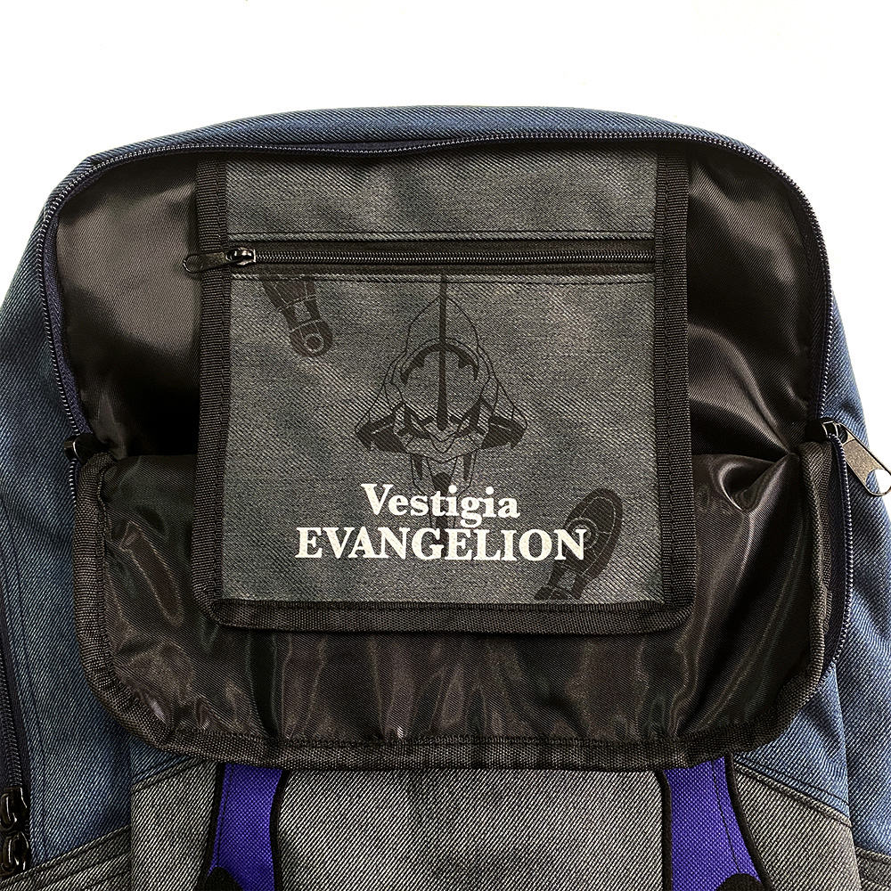 EVANGELION Bicolor Back Pack by mis zapatos (パープル(13号機))