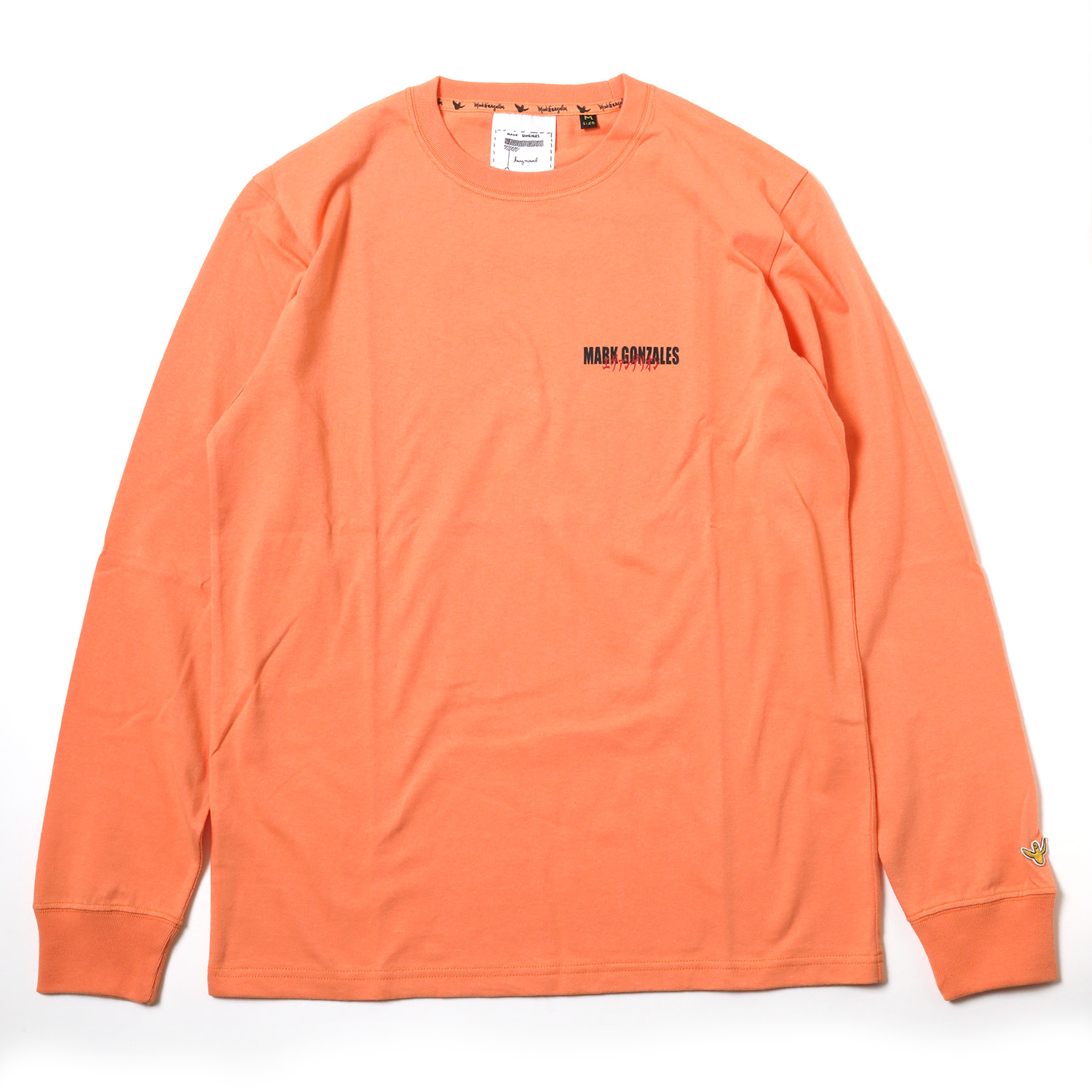 3rd Impact Pt. L/S TEE by MARK GONZALES (L.ORANGE)