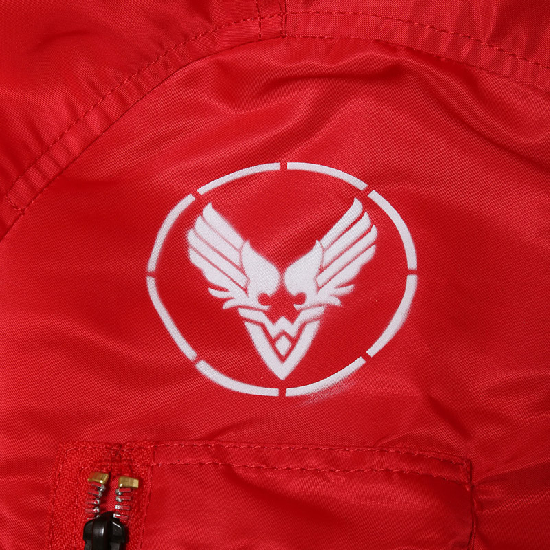 "RADIO EVA × ALPHA MA-1 ""KAMIKAZE CUSTOM"" WILLE EDITION (レッド)"