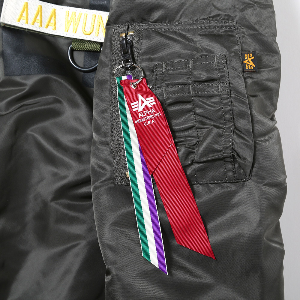 "RADIO EVA × ALPHA MA-1 ""KAMIKAZE CUSTOM"" WILLE EDITION (GRAY)"