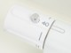 サーモスタットシャワー混合栓 浴室用水栓 台付き  (節水シャワー ホワイト シルバー)