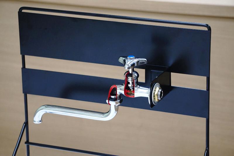 展示台 蛇口・水栓ディスプレイ用(単水栓)