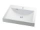 カクダイ 角型洗面器 E493-072002