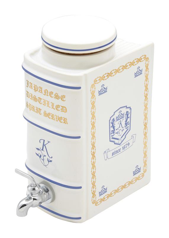 焼酎サーバー ブック型 おしゃれ (美濃焼 容量1.8L )