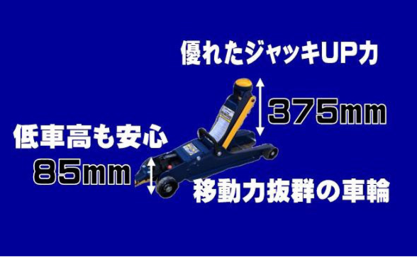 可動戦士 横式!縦横アーム可動油圧式ジャッキ