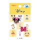 MY483 ディズニーキャラクター ミニーマウス ワッペン 2個付き アイロン&シール両用タイプ