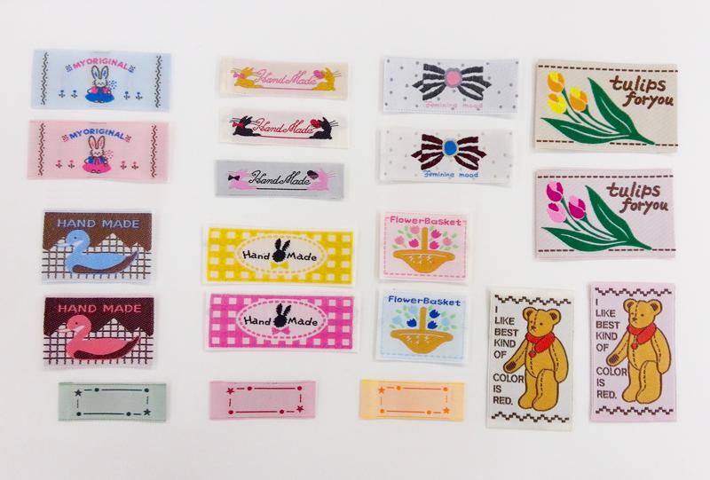 RDO-011 福袋 ハンドメイド素材 「刺しゅうタグアソート30枚セット」