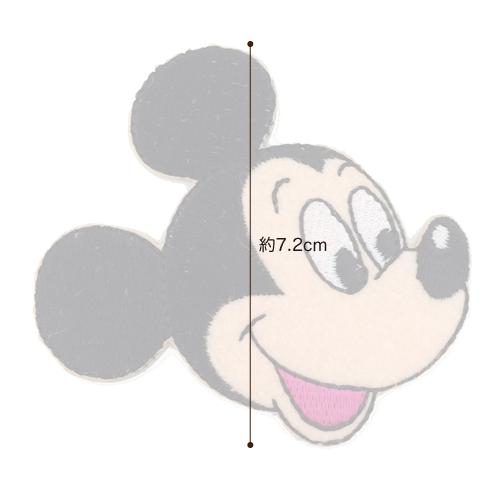 DI30 ・ディスニーキャラクター【ミッキーマウス】アイロン接着ワッペン