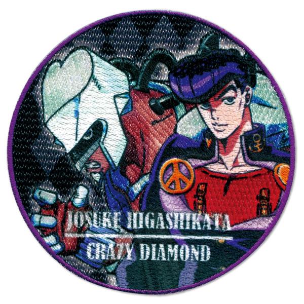 PML01 アイロンシール両用ワッペン<br> TVアニメ「ジョジョの奇妙な冒険 ダイヤモンドは砕けない」