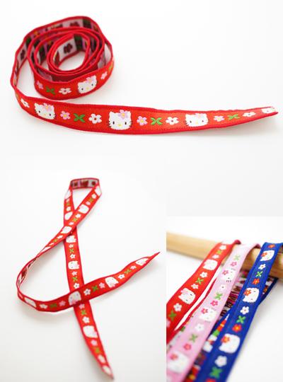 KE02 サンリオ「ハローキティ」ファッションテープ ハンドメイド素材