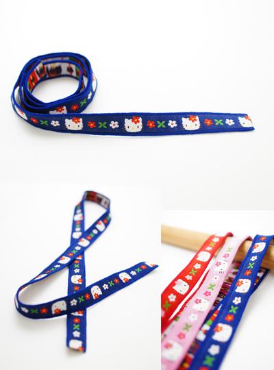 KE03 サンリオ「ハローキティ」ファッションテープ ハンドメイド素材