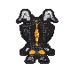 PU59 ウルトラ怪獣「ゼットン」ワッペン<br>アイロン接着・シール接着両用タイプ