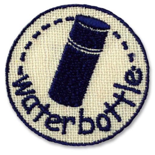 23360 目印マークのワッペン (水筒)