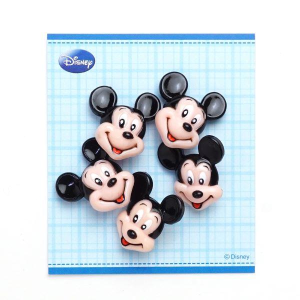 DI81 ・DISNEY「ミッキーマウス」ボタン5個入り