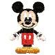 MY464 ディズニーキャラクター ミッキーマウス ワッペン アイロン&シール両用タイプ